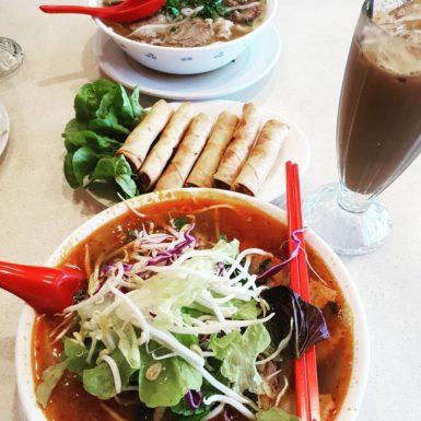 Phở and Bún bò Huế